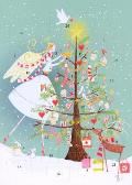 Fairy Advent Calendar Card