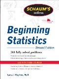 Schaums Outline Of Beginning Statistics 2nd Edition