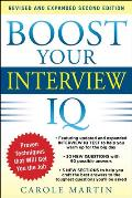 Boost Your Interview IQ 2nd Edition