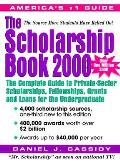 Scholarship Book 2000 The Complete Guide To Pr