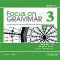 Focus on Grammar 3 Classroom Audio CDs