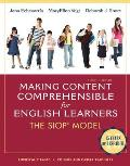 Making Content Comprehensible for English Learners The SIOP Model 4th Edition
