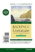 Backpack Literature An Introduction To Fiction Poetry Drama & Writing Books A La Carte Edition