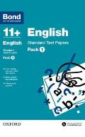 Bond 11 +: English: Standard Test Papers Pack 1