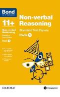 Bond 11+: Non Verbal Reasoning: Standard Test Paperspack 1