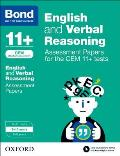 Bond 11+: English and Verbal Reasoning: Assessment Papers for the Cem 11+ Tests
