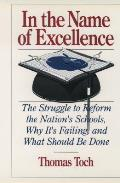 In The Name Of Excellence The Struggle