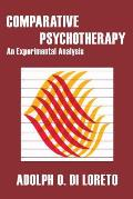 Comparative Psychotherapy: An Experimental Analysis