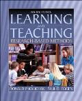 Learning and Teaching: Research-Based Methods