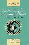 Accounting For Fundamentalisms The Dynam