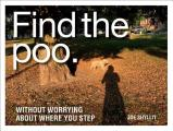 Find the Poo Without Worrying about Where You Step