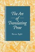 The Art of Translating Prose