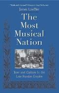 Most Musical Nation Jews & Culture in the Late Russian Empire