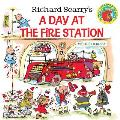 Richard Scarrys a Day at the Fire Station