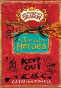 How to Train Your Dragon A Journal for Heroes