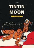 Tintin on the Moon Destination Moon & Explorers on the Moon
