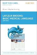 Elsevier Adaptive Learning for Basic Medical Language (Access Card)
