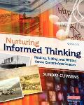 Nurturing Informed Thinking: Reading, Talking, and Writing Across Content-Area Sources