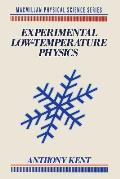 Experimental Low-Temperature Physics