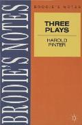 Pinter: Three Plays
