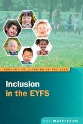 Inclusion in the Early Years