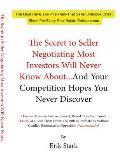 Secret to Seller Negotiation