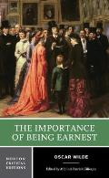 Importance of Being Earnest Authoritative Text Backgrounds Criticism
