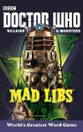 Doctor Who Mad Libs: Villains & Monsters