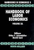 Handbook of Labor Economics, Volume 3A