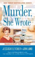 Murder She Wrote Manuscript for Murder