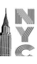 NYC Chrysler Building Writing Drawing Journal