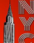 Iconic New York City Chrysler Building $ir Michael designer creative drawing journal