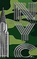 Iconic Chrysler Building New York City camouflage Sir Michael Huhn Artist Drawing Journal