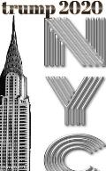 Trump-2020 Chrysler Building NYC Sir Michael Huhn designer writing Drawing Journal.