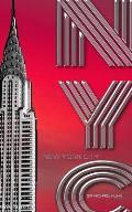 New York City Chrysler Building Writing Drawing Journal