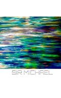 Sir Michael Abstract oil on canvas Notebook