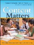 Content Matters A Disciplinary Literacy Approach To Improving Student Learning