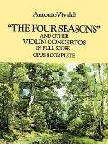 Four Seasons & Other Violin Concertos in Full Score Opus 8 Complete