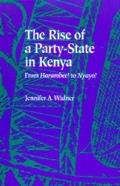 The Rise of a Party-State in Kenya: From Harambee! to Nyayo!