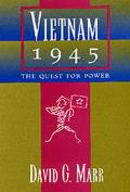 Vietnam 1945 The Quest For Power