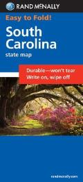 South Carolina State Hwy Easy Fold Map