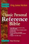 Bible Kjv Classic Personal Reference