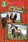 Horses & Ponies Scholastic Reader Level 3