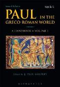 Paul in the Greco-Roman World: A Handbook: Volume I