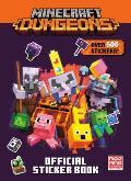 Minecraft Official Dungeons Sticker Book Minecraft