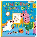 Unicorn's School Day: Turn the Wheels for Some Silly Fun!