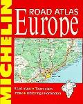 Europe Road Atlas Michelin