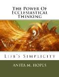 The Power Of Ecclesiastical Thinking