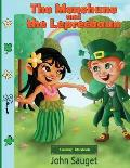 The Menehune and the Leprechaun: Coloring Storybook