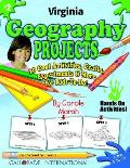 Virginia Geography Projects - 30 Cool Activities, Crafts, Experiments & More for
